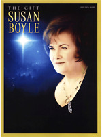 SUSAN BOYLE THE GIFT Piano Vocal Guitar Music Book Songbook Christmas Songs