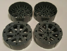 Lego 55mm Wagon Wheel Viking with 12 Holes Set of 4