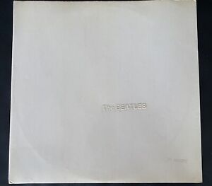 The BEATLES WHITE ALBUM Sammlerrarität! extrem niedrige Nummer 3377 !! UK 1rst