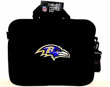 Baltimore Ravens Neoprene Laptop Bag - Fits 15 in and Most 17 in - TSA Approved
