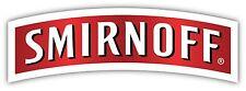 SMIRNOFF Sticker Decal *PICK SIZE&COLOR* Vodka Alcohol Bumper Bar Wall