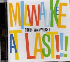 RUFUS WAINWRIGHT - MILWAUKEE AT LAST!!!  - CD - NEW -