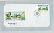 GARDENS OF AUSTRALIA : ADELAIDE BOTANIC GARDEN SIGNED FIRST DAY COVER unique G
