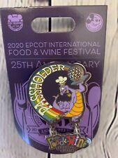 💜Disney Parks Epcot Food & Wine Festival 2020 Pin Figment Passholder Le Of 3000
