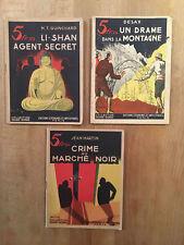Collection Rouge-Gorge - Lot de 3 fascicules - 1943 - BE