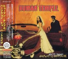 HUMAN TEMPLE - Halfway to Heartache +1 / New OBI Japan CD 2012 / Hard Rock