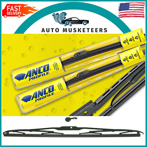 """ANCO KwikConnect Conventional 31 Series Black Wiper Blades 20"""""""