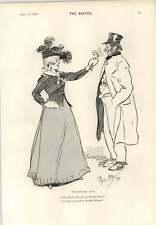 1893 The Precocious Poacher Cartoon René Bull Primrose Day Phil May