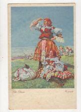 Na Pouti Otto Ottmar Eastern Europe Vintage Art Postcard 866a