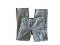 Talbots Signature Straight Black Wool Blend Dress Pants Size 4P PETITES Black