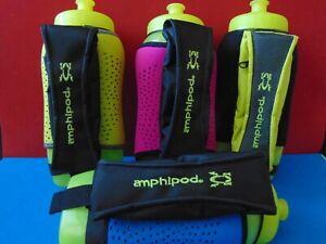 Amphipod Running Handheld 20oz Water Bottle Ergonomic Zipper Pouch Color Choices