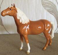 BESWICK HORSE PONY HEAD UP MODEL No 1197 PALOMINO GLOSS FINISH PERFECT RARE