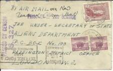 Prisoner of War-Australia SG#176,#171(x2) GERMAN CIVILIAN INTERNEE-CAMP