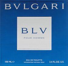 Bvlgari Bulgari BLV Pour Homme 100 ml Eau de Toilette Spray NEU OVP