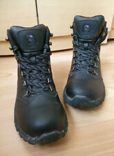 BLACK, LEATHER, WALKING BOOTS BY GELERT, VERY GOOD CONDITION - UK 6 - EU 39