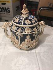 Wick Werke A.G. Bowle Topf, Rumtopf, Keramik Schale, mit Deckel, Germany