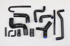 BMW M3 E30 13 hoses Silicone set COOLANT hose kit Motorsport 2.3 BLACK