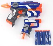 NERF N-Strike Elite Firestrike & Jolt Blue Gun Working Red-Dot Pointer Hasbro