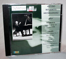 CD ARTURO BENEDETTI MICHELANGELI plays Beethoven - Chopin - Liszt