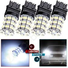 New 4PCS Xenon White 60-SMD 3047 4057 4157 3157 Brake Tail Stop Light LED Bulbs