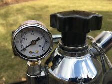 La Pavoni black boiler cap, stainless steel base & gasket for lever machines