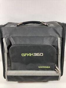 Nakiworld GPAK360 Travel Case & Organizer For Xbox 360 Gaming Bag Tote