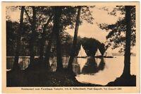 Ansichtskarte Restaurant zum Forsthaus Templin / Caputh - Süßenbach - 1930 - s/w