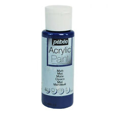 Pebeo Art, Craft & Hobby Acrylic Paint 59ml Bottles 43 Colours with MATT Finish