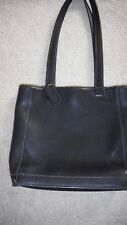 COACH Black Tote Handbag Bleeker 9305 Leather Bag Purse made in USA