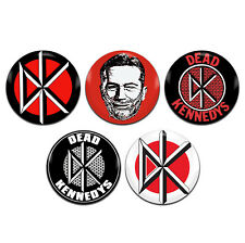 5x Dead Kennedys Band Punk Rock 25mm / 1 Inch D Pin Button Badges