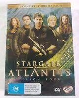 MGM Stargate Atlantis The Complete 4th Season DVD Boxed Set 5 Disc PAL 2008