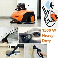 Steam Cleaner Carpet Mop Heavy Duty Cleaning Multi Purpose Home Office 1500W New