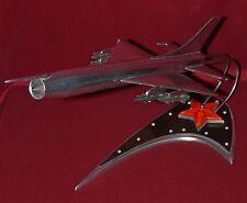 Very Rare Big Vintage Russian Soviet metal Souvenir Desk model Military Airplane