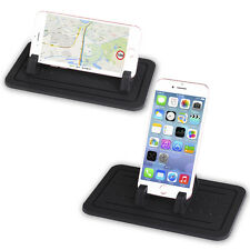 Car Accessory iPhone Silicone Mat Non-Slip Mount Holder Cradle For Cellphones