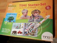 Der Kinder Hör-Brockhaus TING Starter-Set mit Buch und TING Hörstift Lernbuch
