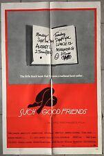 Affiche DES AMIS COMMES LES MIENS Such good friends PREMINGER Saul Bass  Aff US