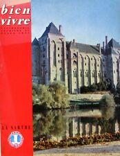 Bien Vivre n°29 - 1960 - La Sarthe - Gastronomie - Tourisme Beaux Arts