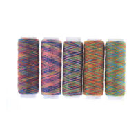 5Pcs Rainbow Color Hand Quilting Embroidery Sewing Thread DIY Sewing Supplies UQ