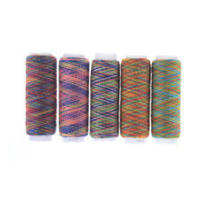 5Pcs Rainbow Color Hand Quilting Embroidery Sewing Thread DIY Sewing Supplies X5