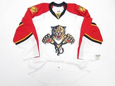 FLORIDA PANTHERS AUTHENTIC AWAY TEAM ISSUED REEBOK EDGE 2.0 7287 JERSEY SIZE 56