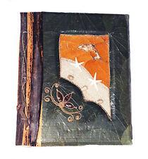 Large Handmade photo album, made using natural lief & bark DOLPHIN design new
