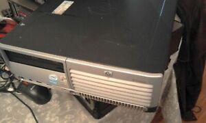 HP DC7700 Small Form, Pentium 4D 3.4GHz, 4GB RAM, DVD R, Windows XP Pro