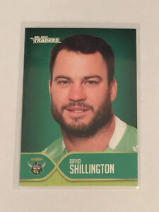 2015 NRL TRADERS CARD - FACES OF THE GAME SET OF 3 - CANBERRA RAIDERS