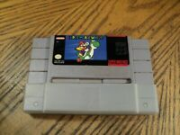 Super Mario World (Super Nintendo, 1992) Cartridge & Connection Protector