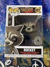 Funko Pop! Rocket Raccoon Mission Breakout Disney Parks Exclusive