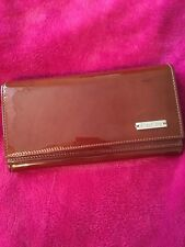 Max Mara Patent Leather Brown Wallet