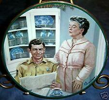 Aunt Bee's Kitchen from The Andy Griffith Show Plate Collection, Coa