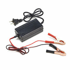 12V Portable Battery Charger Motorcycle Car ATV Boat Maintainer Mode