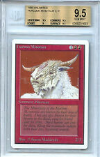 MTG Unlimited Hurloon Minotaur Magic the Gathering WOTC BGS 9.5 Gem Mint Card