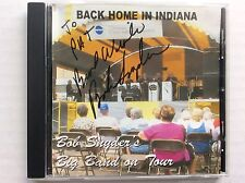 Back Home In Indiana: Bob Snyder's Big Band on Tour CD Saxy SR109 MINT auto